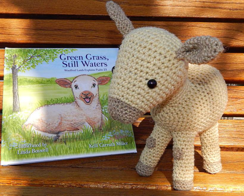 The first Woolfred made by pattern creator Emilie